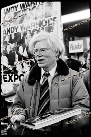 Andy warhol 7_02_80 Words and music and Savoy hotel