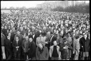000 staff.  Red Robbo., Longbridge pre strike vote people cars industry union 20