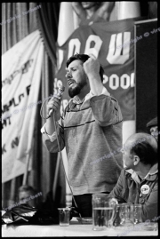Rciky Tomlinson.  Blackpool TUC. Right To Work Marchers.