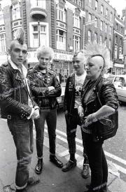 Punks.  London.