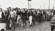 Mods. Skinheads.  Southend. Bank Hol. 1979