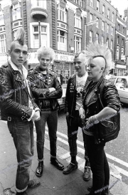 Punks.  London.