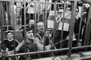 skinheads.  facists.  right wing  anti troops out demo