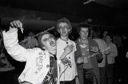 Punks.  RAR gig.