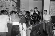 Punks at Rock against Racism gig.