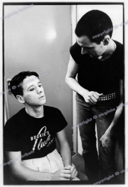 Jim Kerr Simple Minds Ronnie Gurr