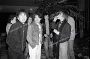 U2 and fans.  Holland. 1980.