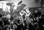 UK Subs and fans. Punks.